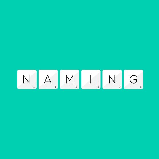 Conoce el proceso del naming en 5 sencillos pasos