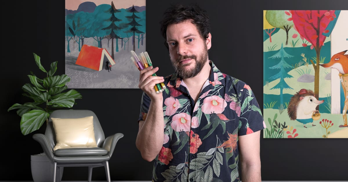 Introduction to Children's Illustration (Adolfo Serra). Online Course   Domestika