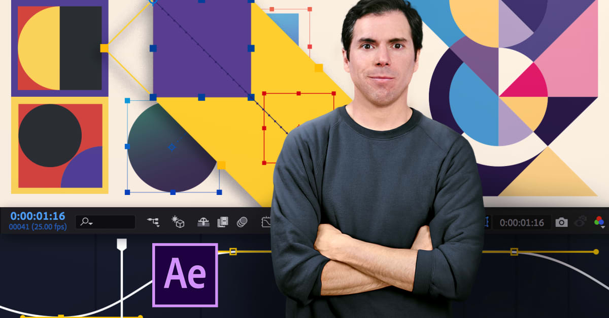 Introduction to Motion Design and Animation Curves in After Effects