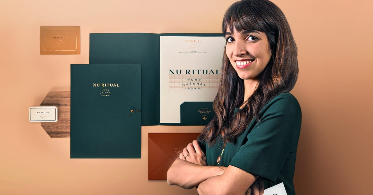 Design of a Captivating Corporate Stationery Set