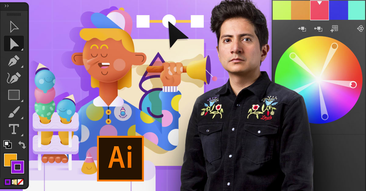 Introduction to Adobe Illustrator (Aarón Martínez). Online Course ...