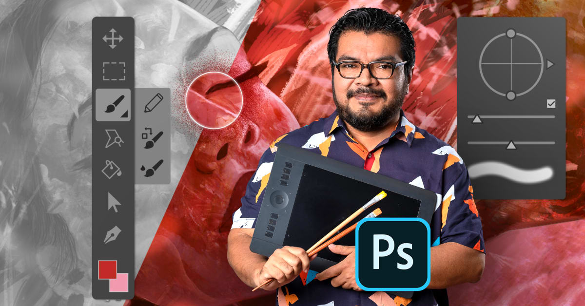 Adobe Photoshop for Digital Painting