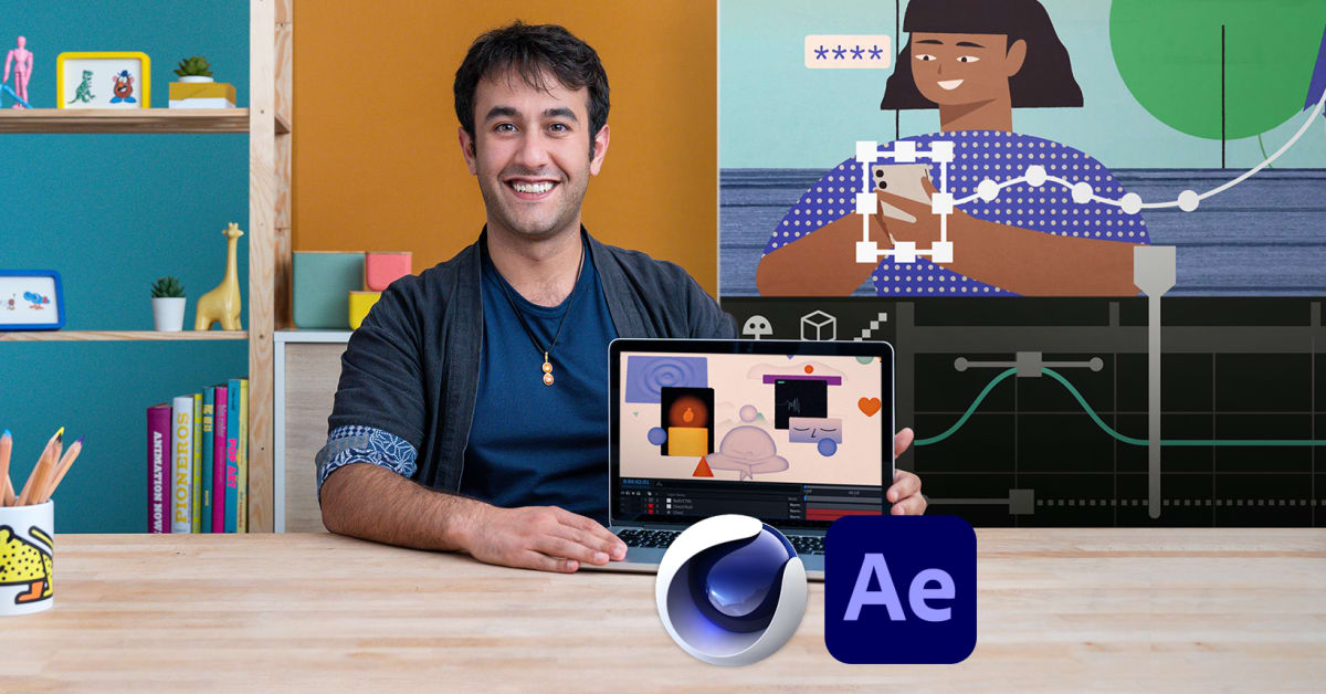 2D and 3D Animation with After Effects and Cinema 4D