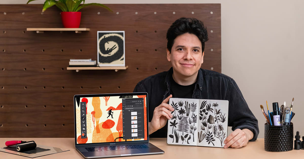 Creative Sketchbooks for Illustration Projects