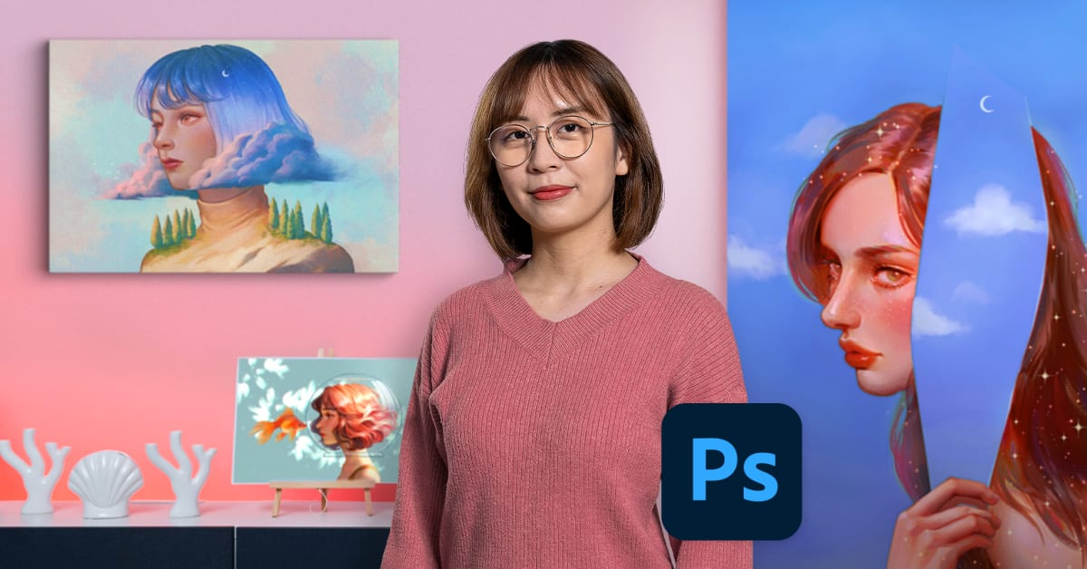 Lighting and Color for Digital Portraits in Photoshop