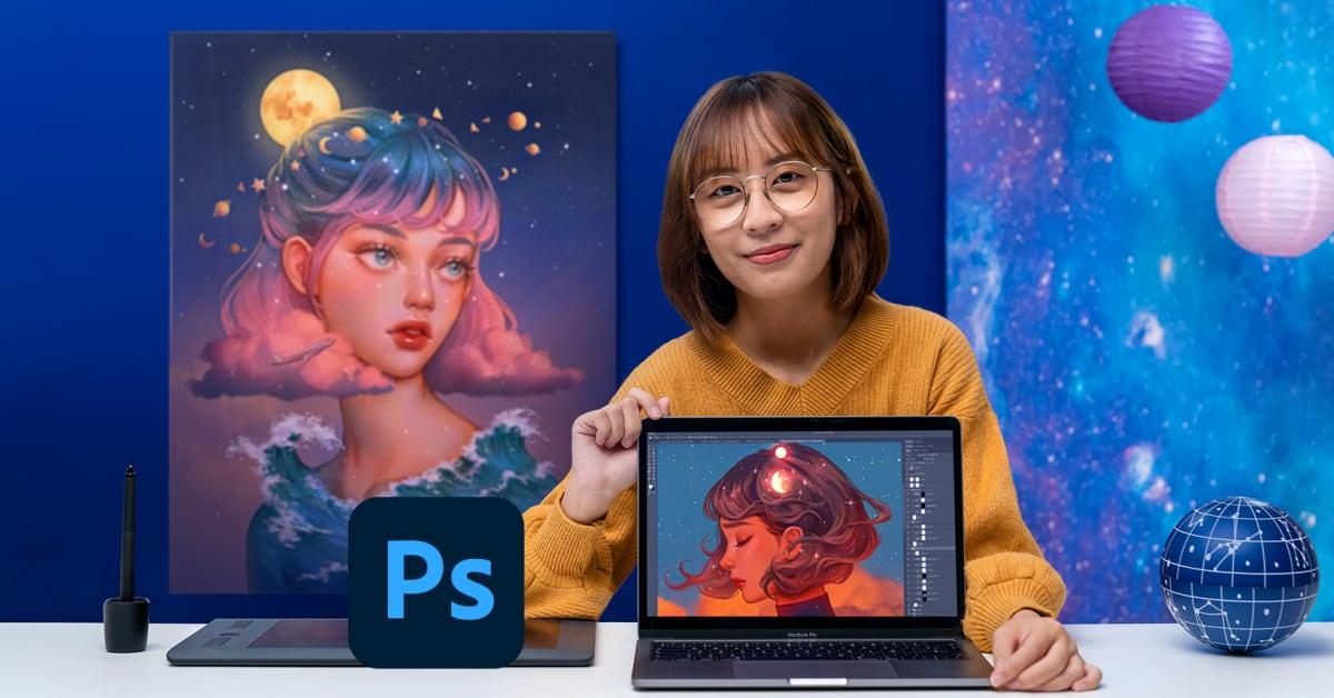 Digital Fantasy Portraits with Photoshop