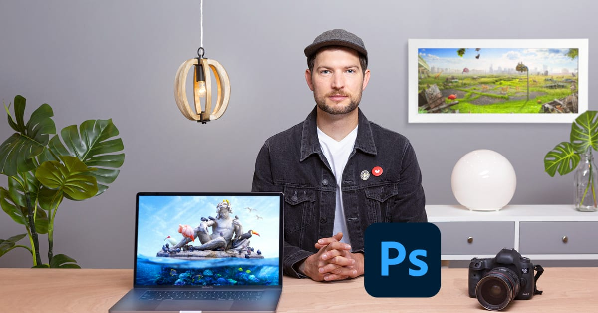 Digital Collage in Photoshop: Composition and Visual Effects