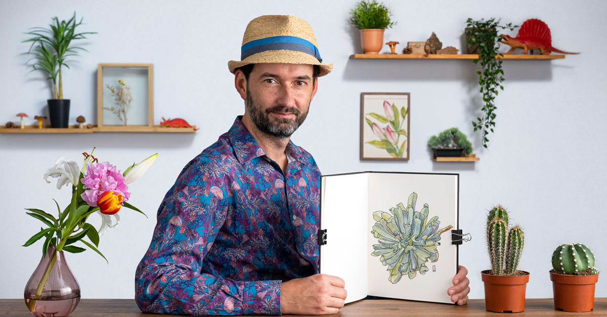 Botanical Sketchbooking: A Meditative Approach