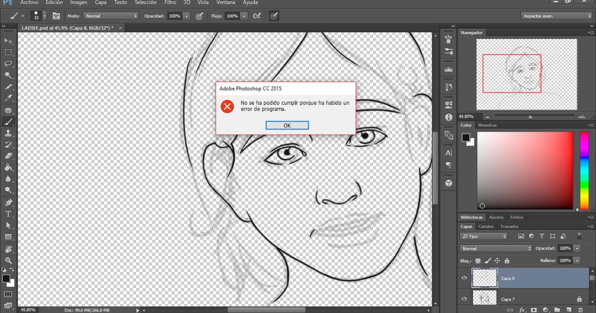 Tengo un problema con Photoshop CC 2015 | Informática | Domestika
