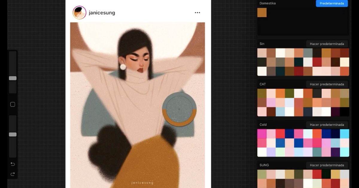 Cómo crear paletas de color personalizadas en Procreate | Blog | Domestika
