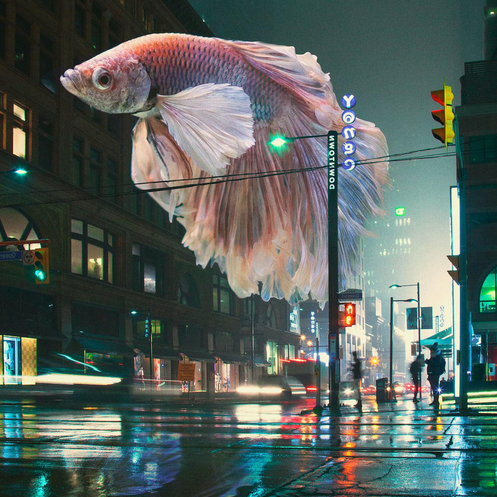 Fotomontagens em Photoshop: o mundo futurista de Diogo Sampaio
