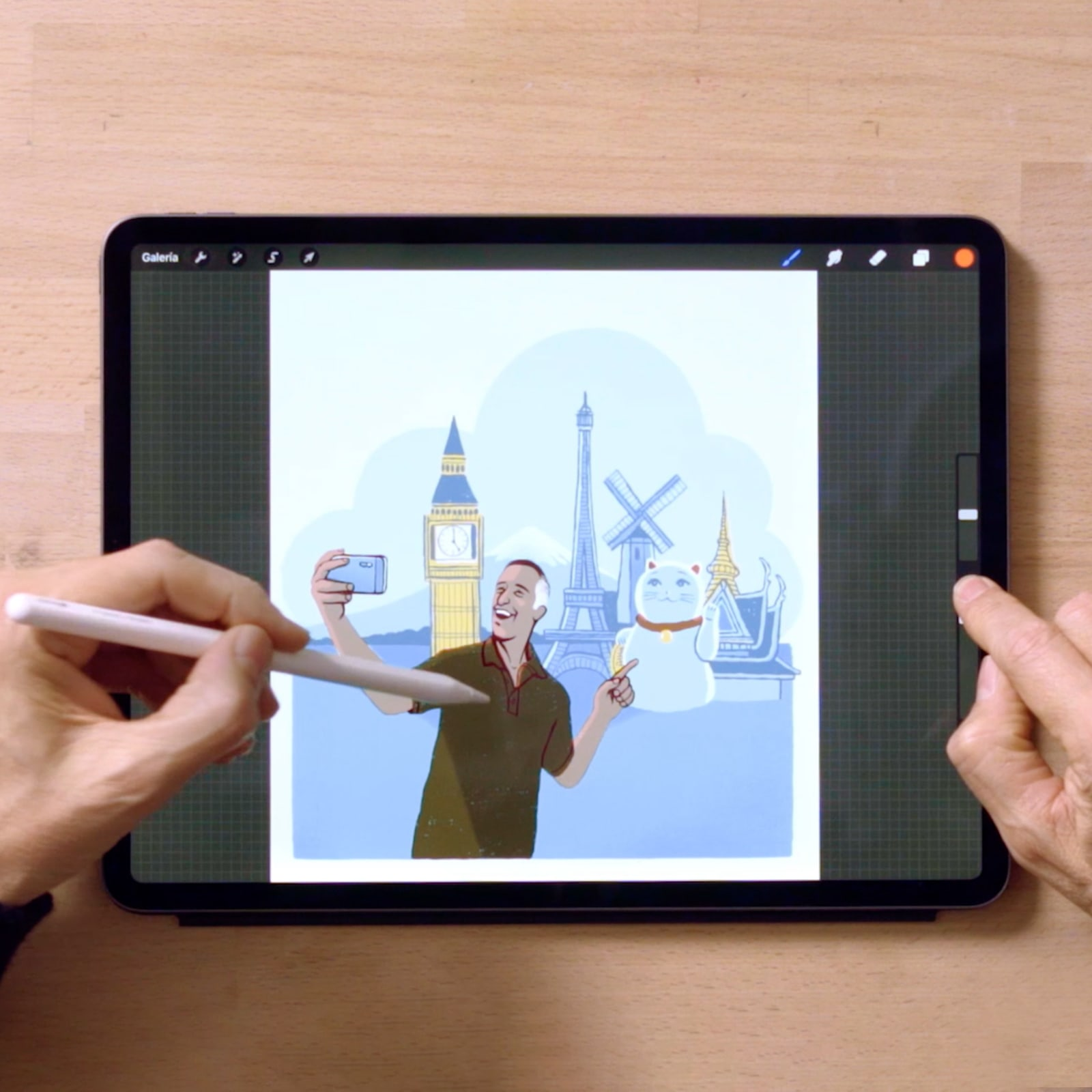 Tutorial Procreate: principais atalhos para ilustração animada