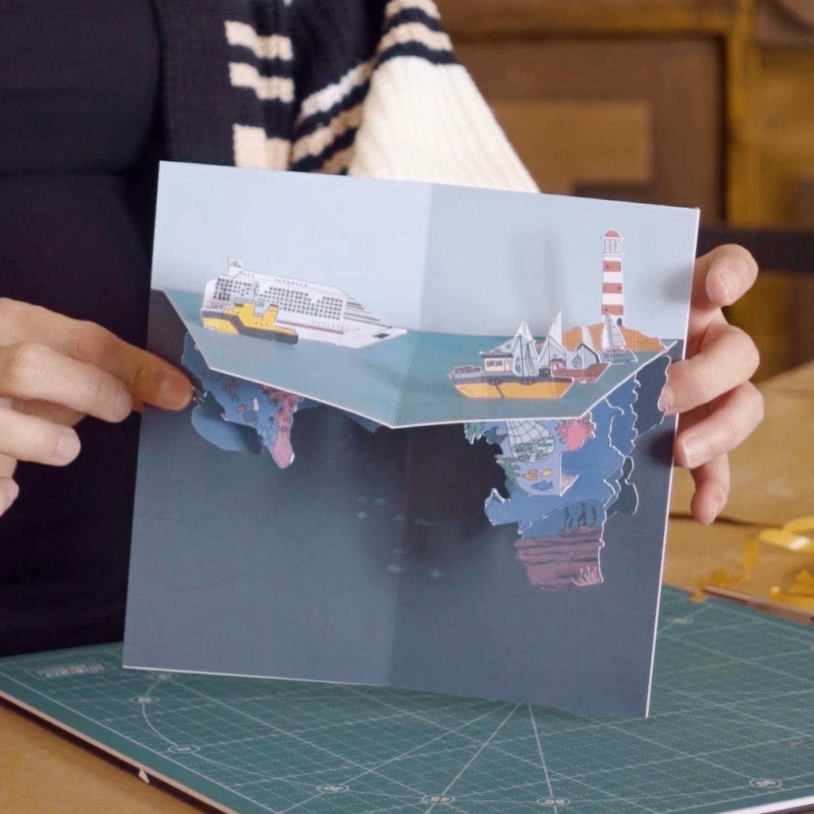 Tutorial DIY: como fazer um cartão pop-up
