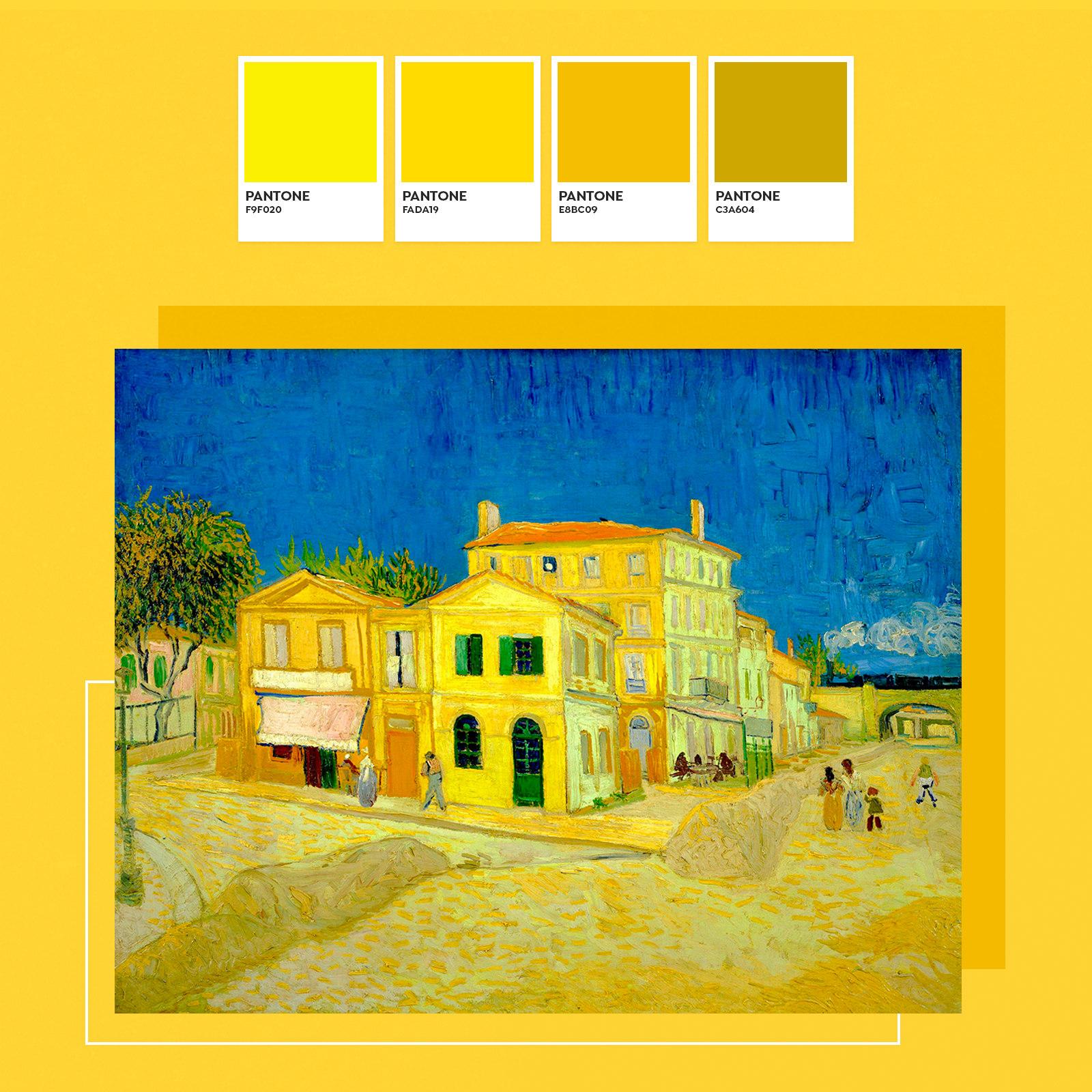 ¿Por qué Van Gogh pintaba tanto en amarillo?