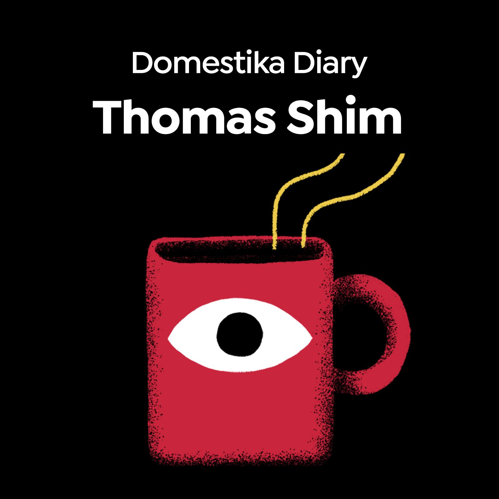Meet Founder of Pride Train, Thomas Shim, in this Domestika Diary