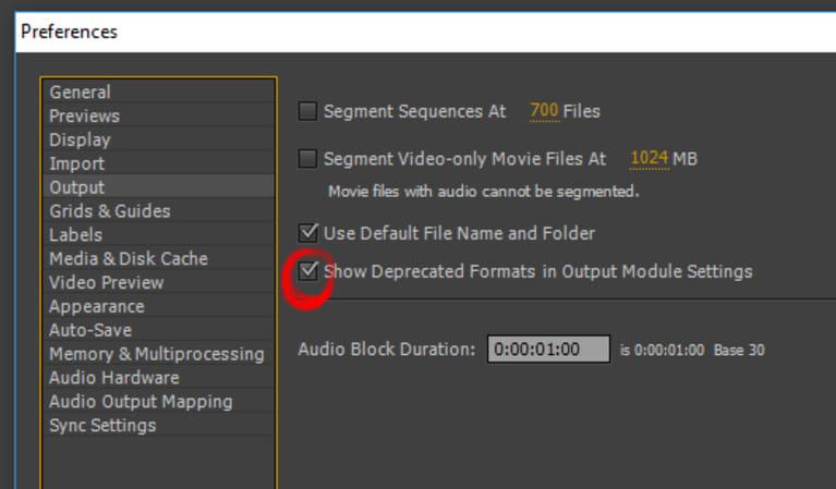 como bajar el peso de un video en after effects