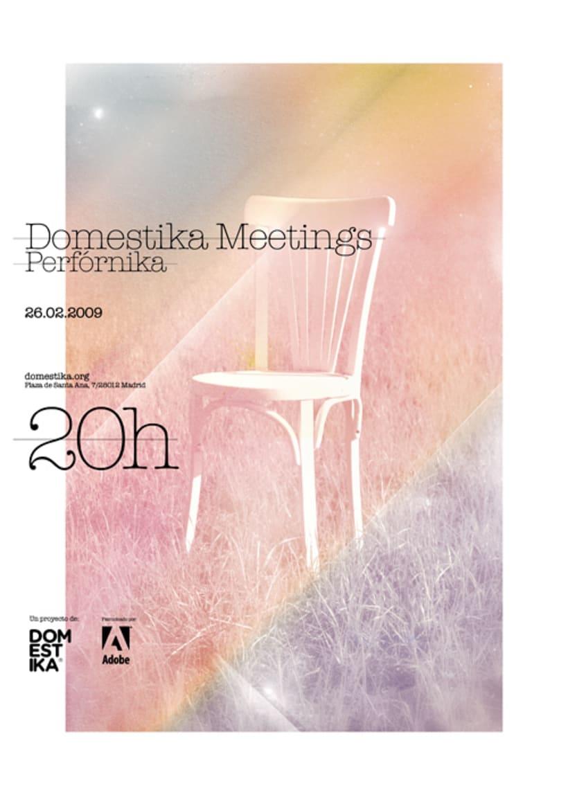 Domestika Meetings. Carteles 2009, Part 1 2