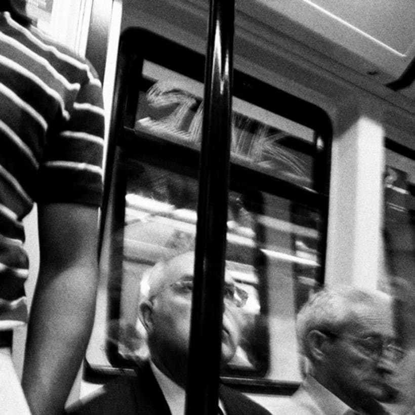 En el metro 5