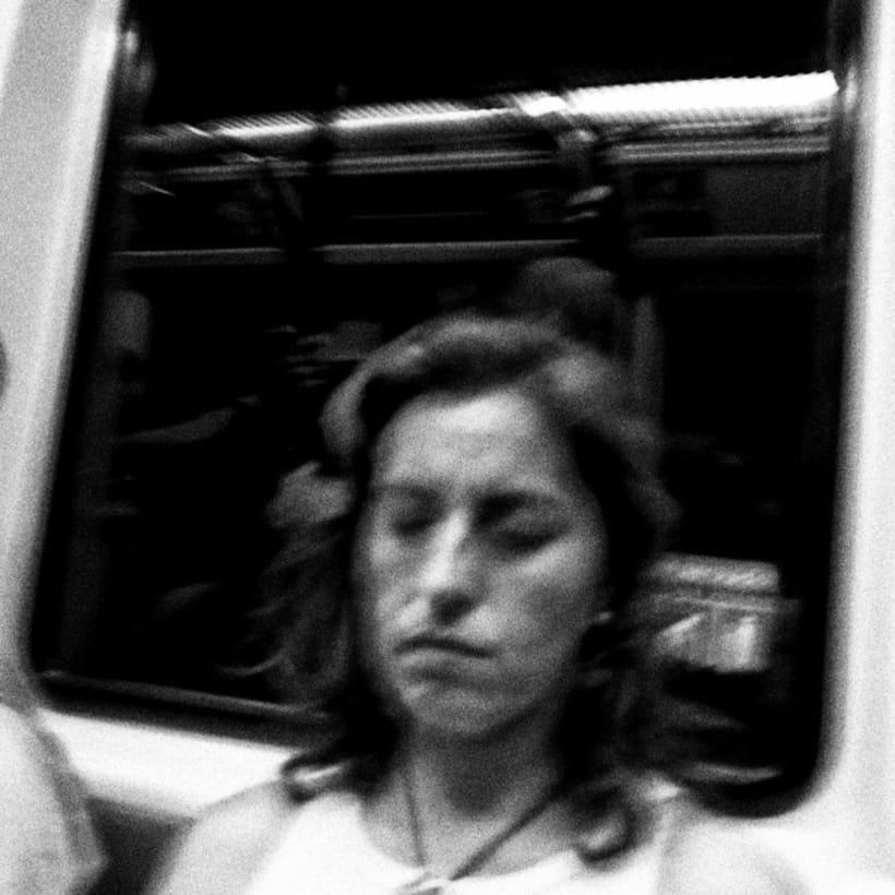 En el metro 3