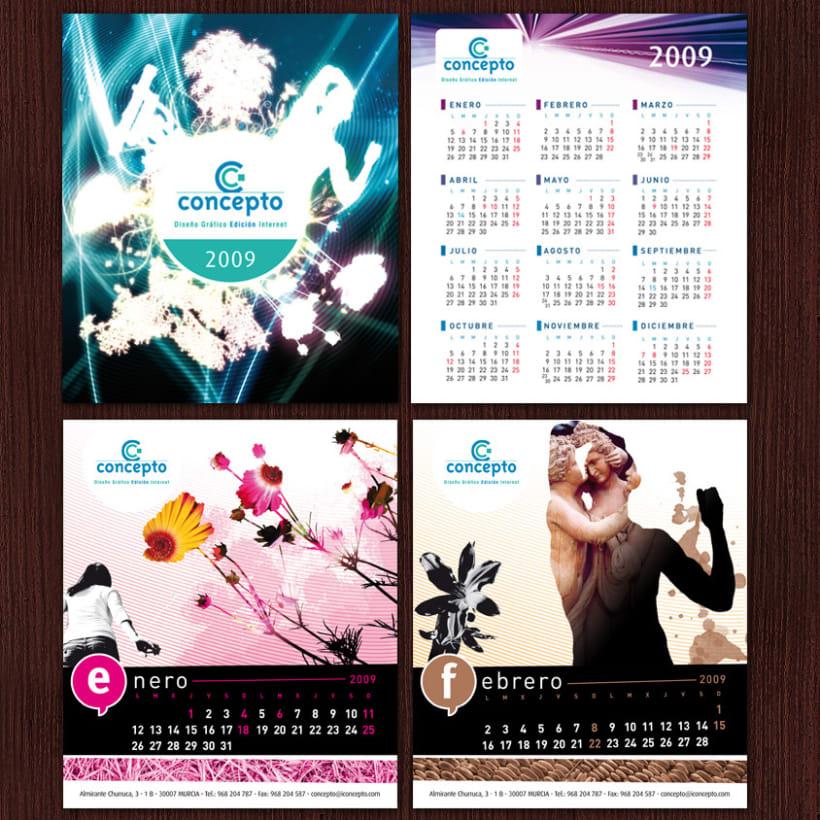 Concepto # Calendario 2009 1