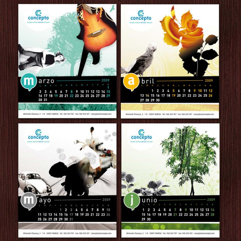 Concepto # Calendario 2009 2
