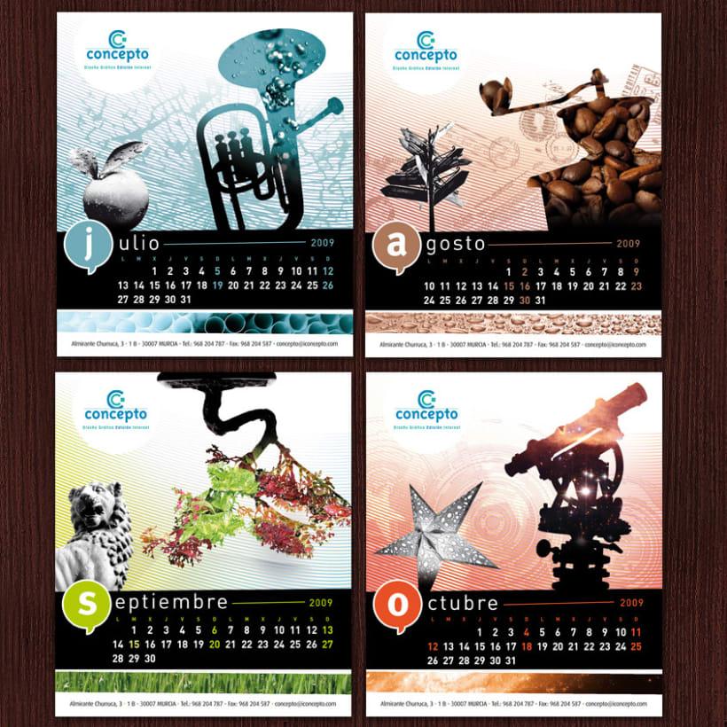 Concepto # Calendario 2009 3