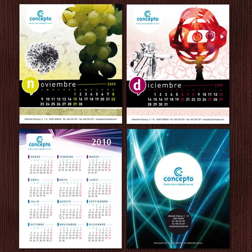 Concepto # Calendario 2009 4