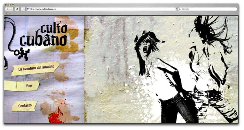 Ron Mulata y Santero, packaging y marca 5