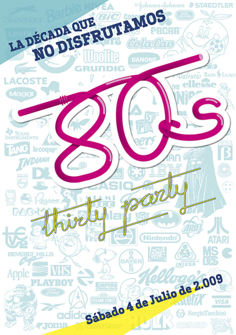 80's Thirty Party 4