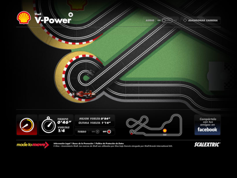 Shell Scalextric 4