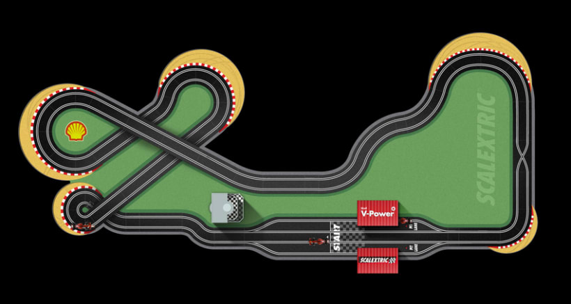 Shell Scalextric 5
