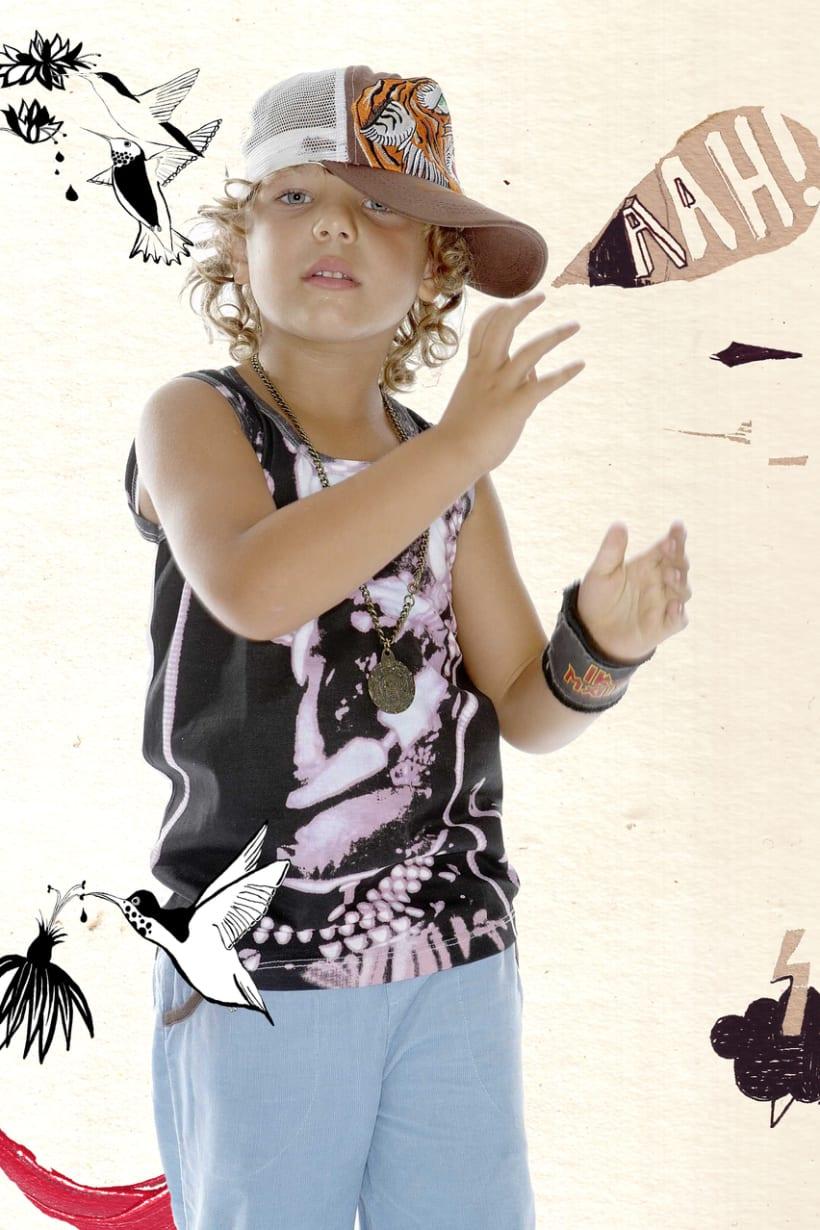 Ilustraciones para moda infantil 4