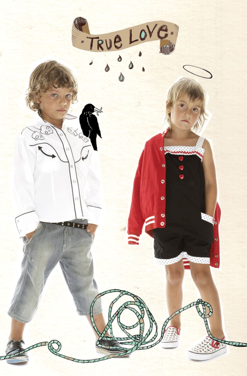 Ilustraciones para moda infantil 1