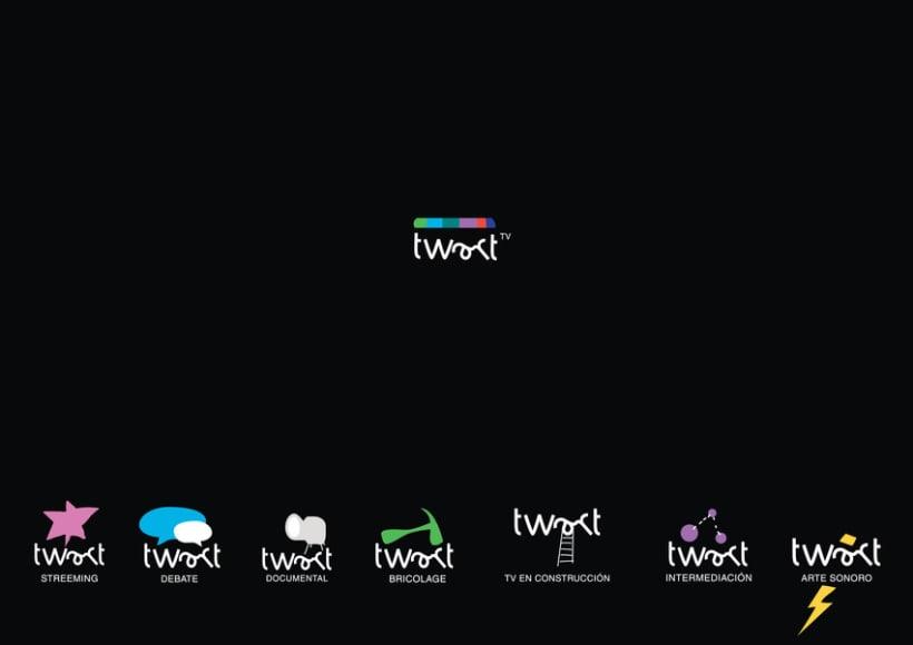 Identidad Corpotativa para Twart Tv 2