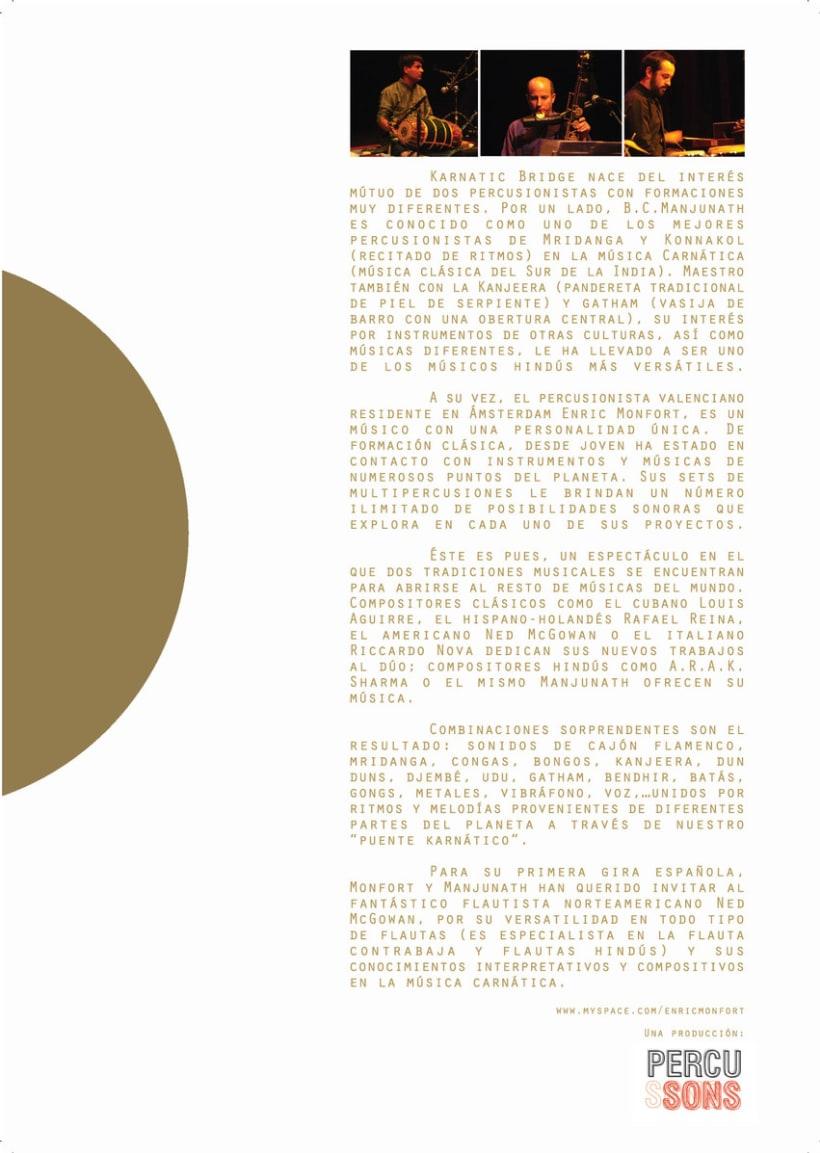 Flyer Ciclo de Conciertos  2