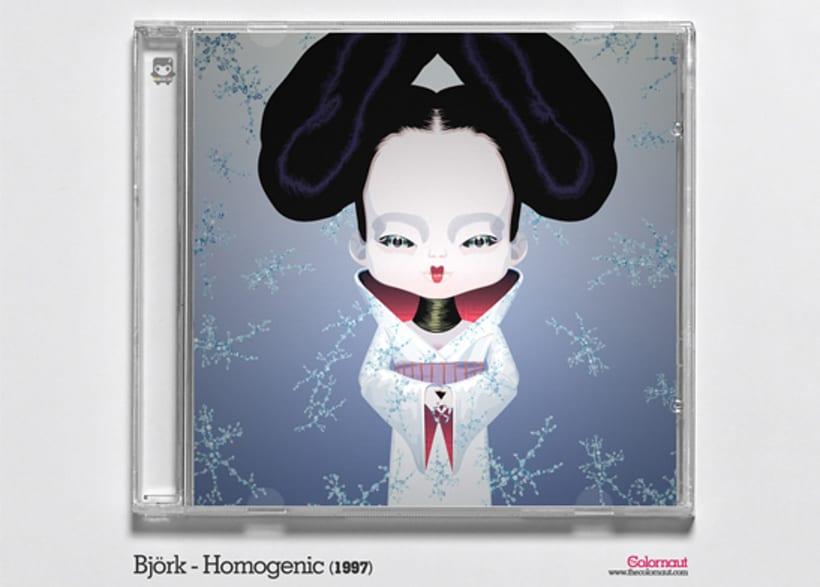 CD Cover Artwork Tribute 6