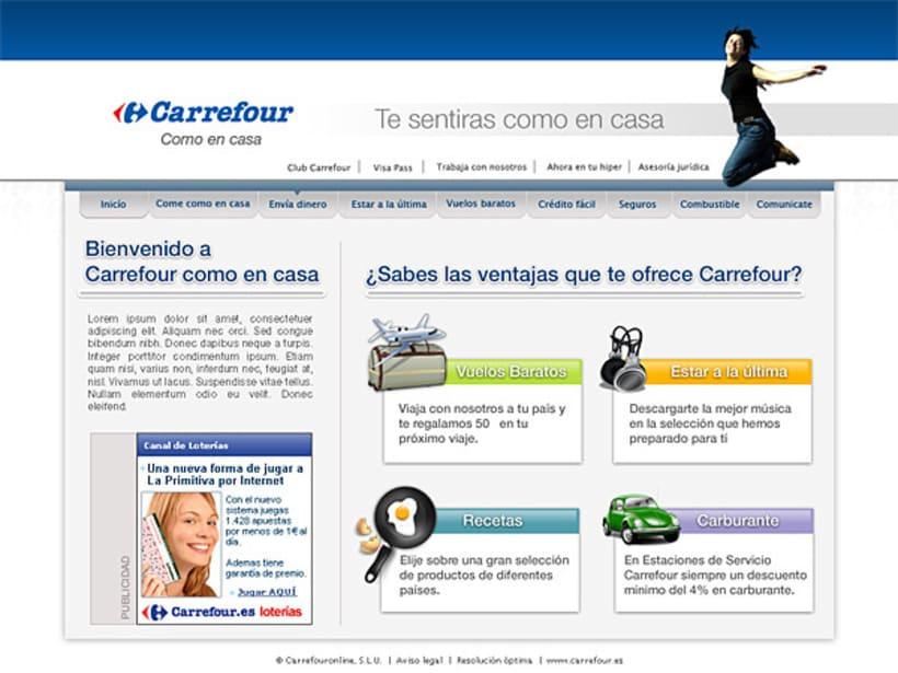 Propuesta gráfica Carrefour 1