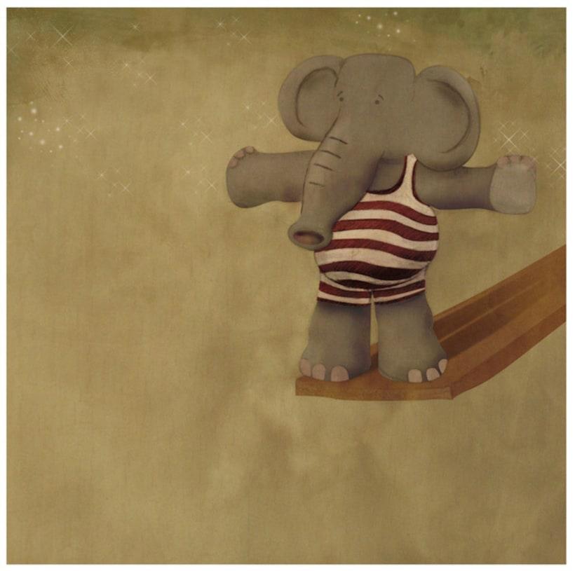 Elephant fearful 1