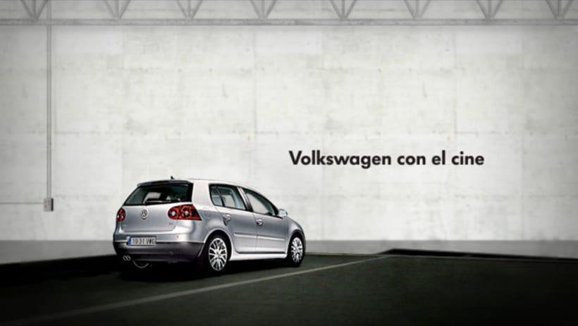 Volkswagen con el cine 3