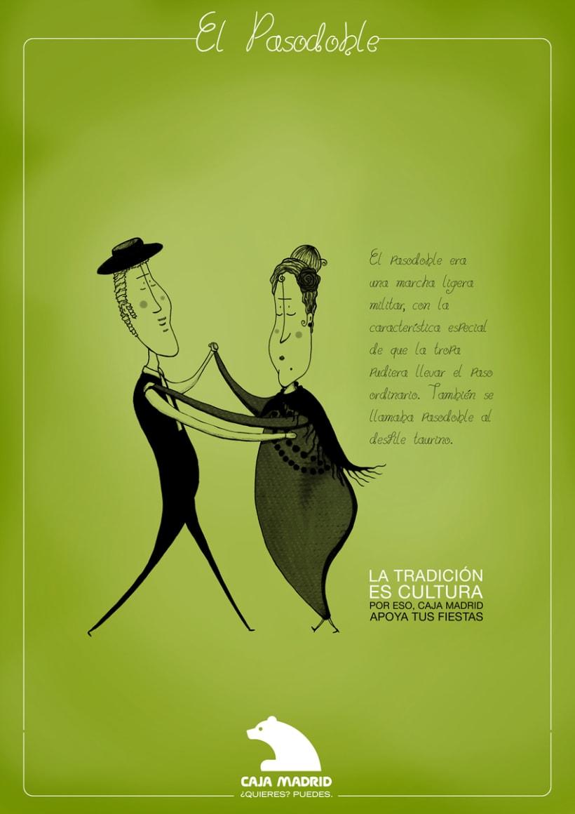Caja Madrid con las fiestas populares 2