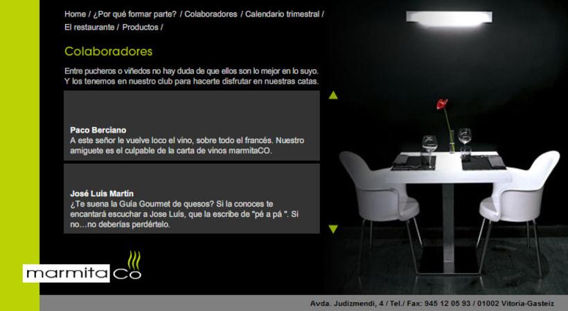 Restaurante Marmitaco web 3