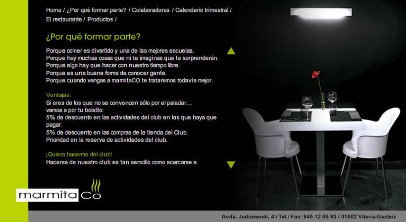 Restaurante Marmitaco web 2