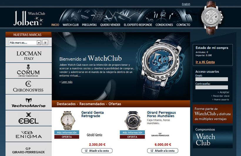 WatchClub tienda online accesible 1