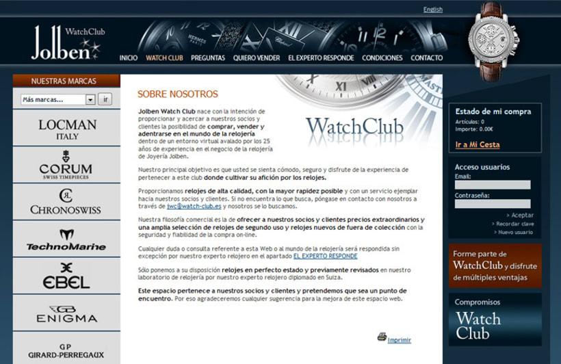 WatchClub tienda online accesible 2