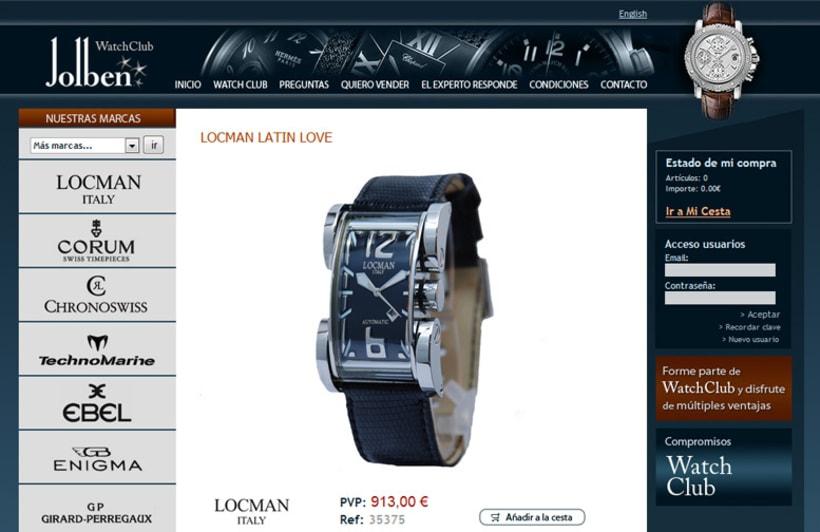WatchClub tienda online accesible 3