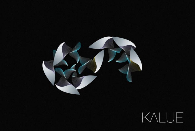 Logotipo Kalue 3