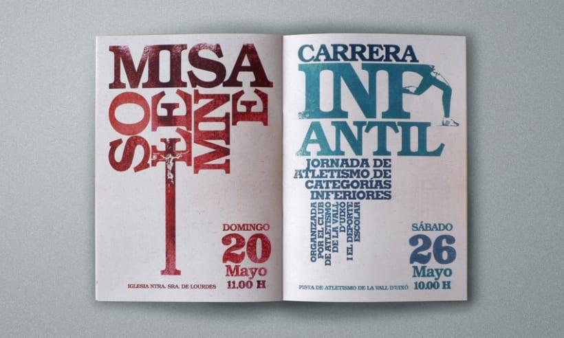 Programa de actos San Isidro 2007 5