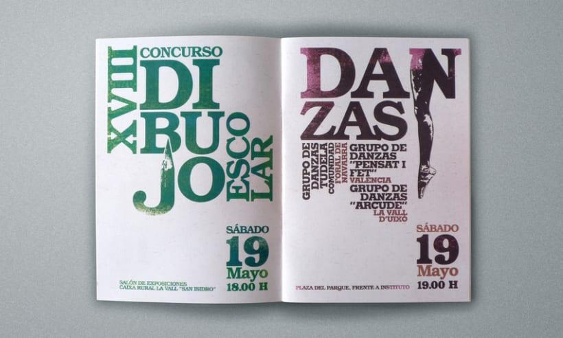 Programa de actos San Isidro 2007 4