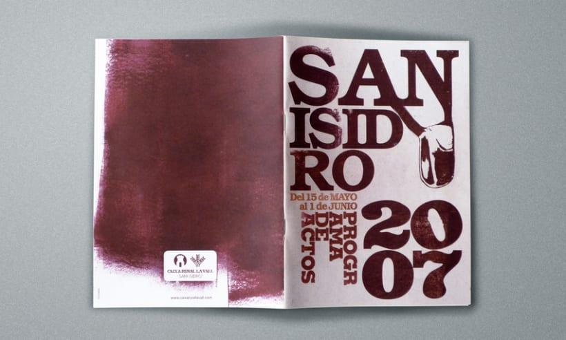 Programa de actos San Isidro 2007 2