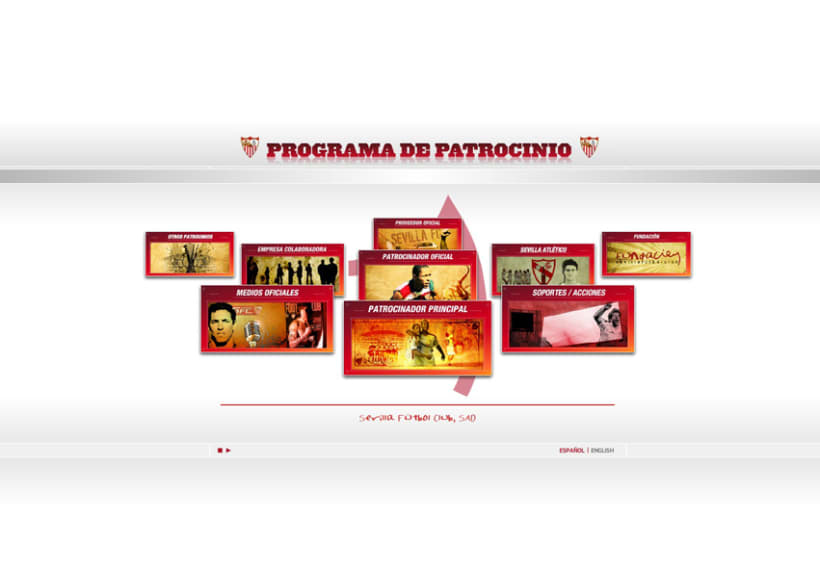 WEB PROGRAMA DE PATROCINIO SEVILLA FC 1